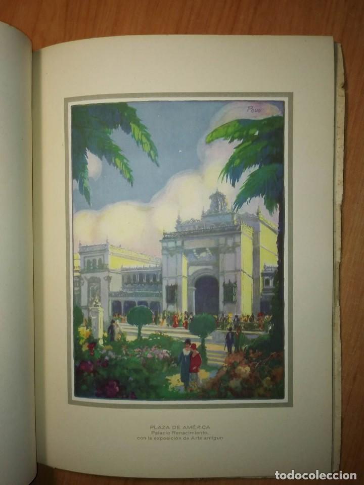 Carteles Feria: Album 23 carteles 31x24 Exposición Ibero Americana Sevilla 1929-1930 - Foto 8 - 113744467