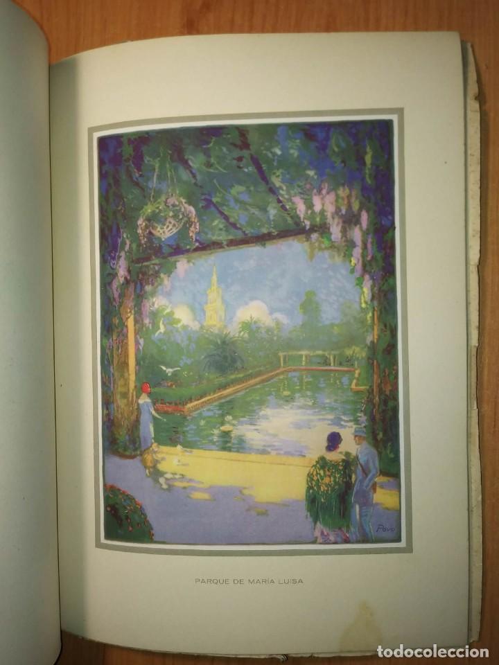 Carteles Feria: Album 23 carteles 31x24 Exposición Ibero Americana Sevilla 1929-1930 - Foto 9 - 113744467