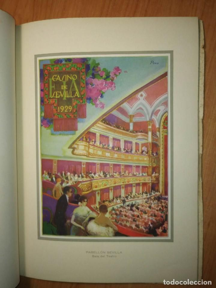 Carteles Feria: Album 23 carteles 31x24 Exposición Ibero Americana Sevilla 1929-1930 - Foto 22 - 113744467