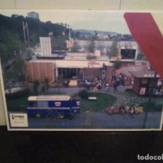 Carteles Feria: 40-FOTO-CARTEL FERIA INTERNACIONAL DE MUESTRAS DE GIJON, STAND RUBIERA 1973,. Lote 114011643