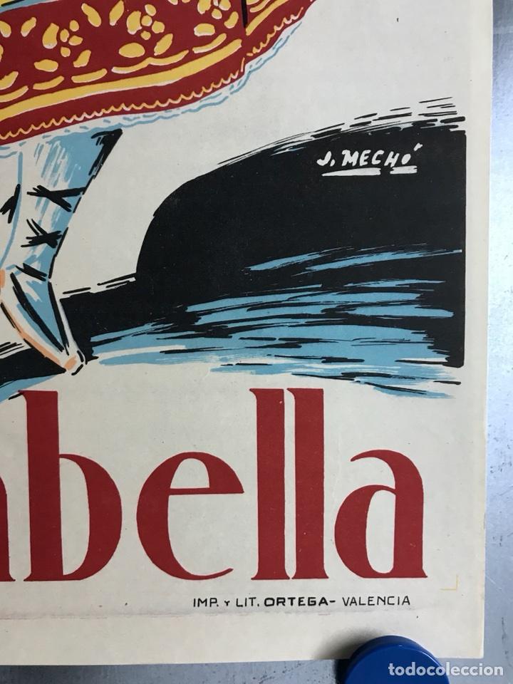 Carteles Feria: CIUDAD JARDIN DE VISTABELLA (MURCIA) - FIESTAS PATRONALES - MAYO 1957 - LITOGRAFIA - ilust: J. MECHO - Foto 2 - 114426182