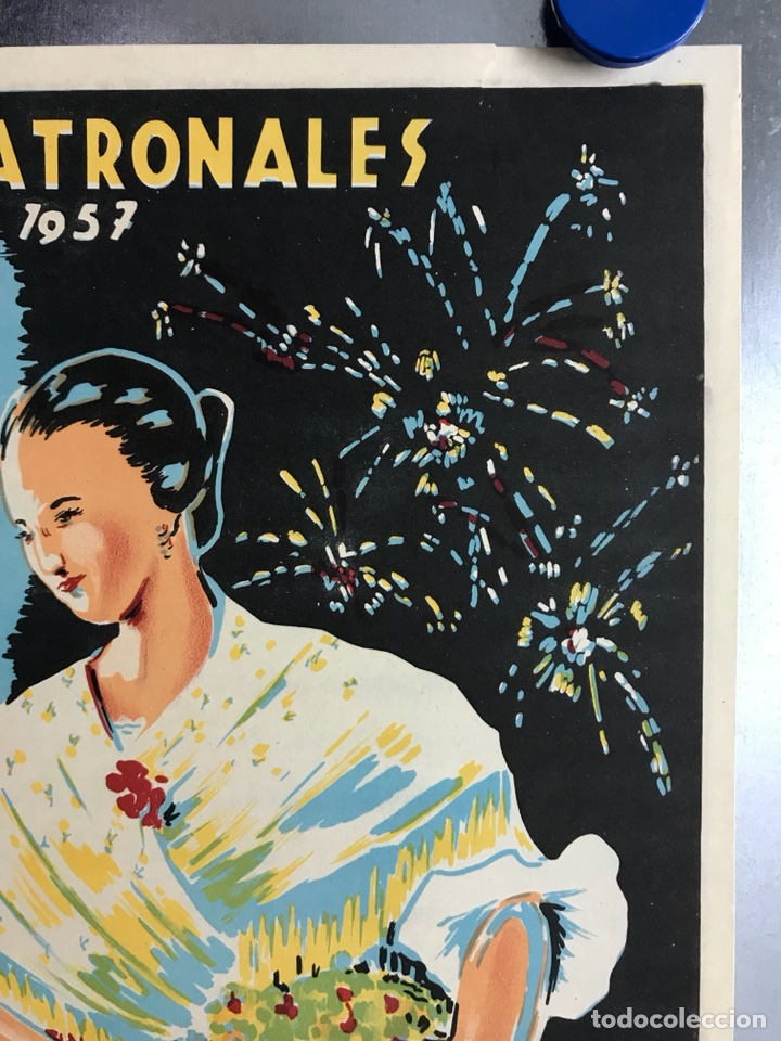 Carteles Feria: CIUDAD JARDIN DE VISTABELLA (MURCIA) - FIESTAS PATRONALES - MAYO 1957 - LITOGRAFIA - ilust: J. MECHO - Foto 4 - 114426182