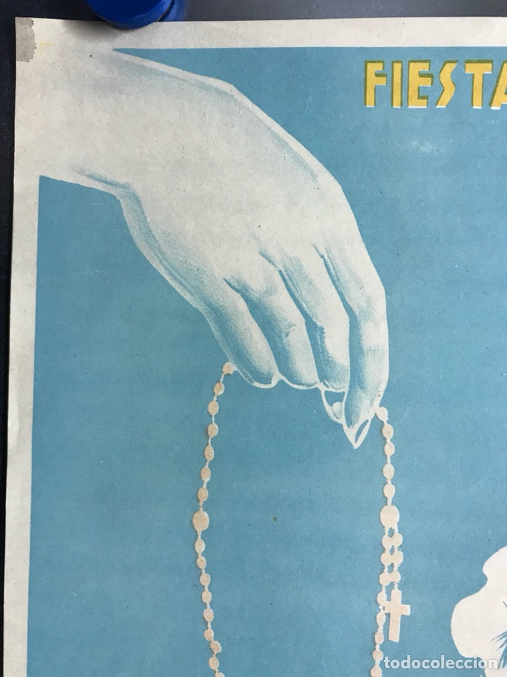 Carteles Feria: CIUDAD JARDIN DE VISTABELLA (MURCIA) - FIESTAS PATRONALES - MAYO 1957 - LITOGRAFIA - ilust: J. MECHO - Foto 5 - 114426182