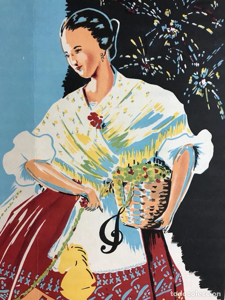 Carteles Feria: CIUDAD JARDIN DE VISTABELLA (MURCIA) - FIESTAS PATRONALES - MAYO 1957 - LITOGRAFIA - ilust: J. MECHO - Foto 6 - 114426182