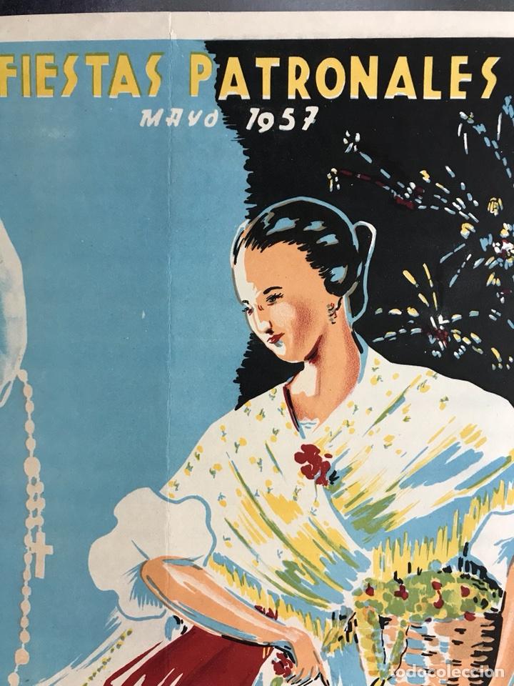 Carteles Feria: CIUDAD JARDIN DE VISTABELLA (MURCIA) - FIESTAS PATRONALES - MAYO 1957 - LITOGRAFIA - ilust: J. MECHO - Foto 7 - 114426182