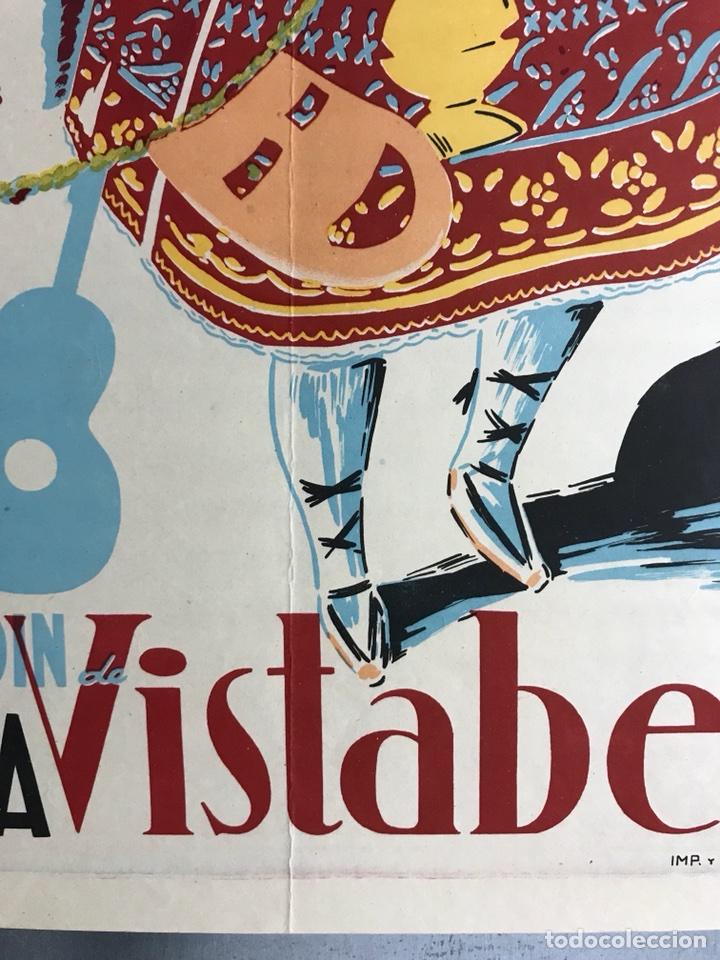 Carteles Feria: CIUDAD JARDIN DE VISTABELLA (MURCIA) - FIESTAS PATRONALES - MAYO 1957 - LITOGRAFIA - ilust: J. MECHO - Foto 8 - 114426182