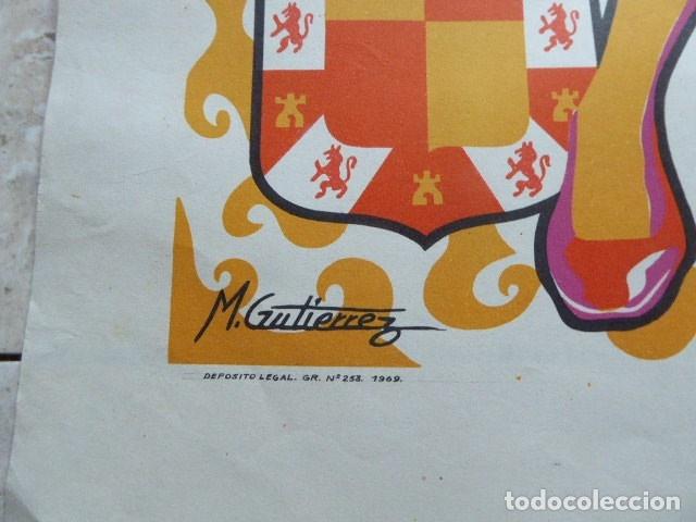 Carteles Feria: CARTEL FERIA DE SAN LUCAS. JAEN. 1969. M. GUTIERREZ. LIT. ANEL. 58 X 80 CM. - Foto 4 - 114624651