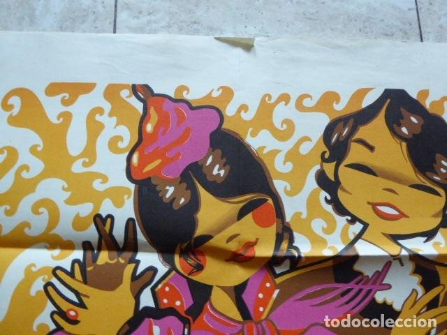 Carteles Feria: CARTEL FERIA DE SAN LUCAS. JAEN. 1969. M. GUTIERREZ. LIT. ANEL. 58 X 80 CM. - Foto 6 - 114624651