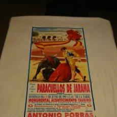 Carteles Feria: LOTE 11 CARTELES TAURINOS TOROS GRAN FORMATO LAS VENTAS DE MADRID AÑOS 90. Lote 114744182