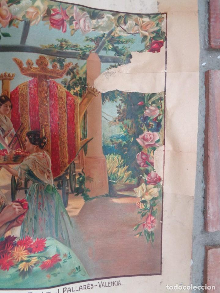 Carteles Feria: GRANDES FIESTAS Y FERIAS EN VALENCIA.AÑO 1914.C.-75 - Foto 3 - 115366039