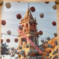 Carteles Feria: SEVILLA, 1991, CARTEL VELA SANTIAGO Y SANTA ANA, TRIANA,48X68CMS. Lote 116155671