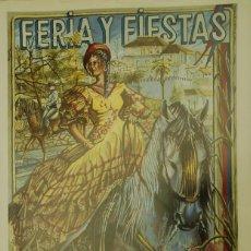 Carteles Feria: MEDINA SIDONIA. CARTEL FERIA 1996. Lote 116282051