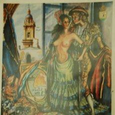 Carteles Feria: MEDINA SIDONIA. CARTEL FERIA 1992. Lote 116282239