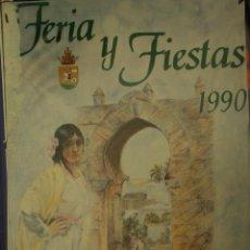 Carteles Feria: MEDINA SIDONIA. CARTEL FERIA 1990. Lote 116282411