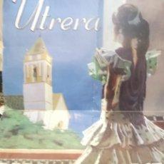 Carteles Feria: CARTEL FERIA Y FIESTAS DE CONSOLACION . UTRERA -SEVILLA .AÑO 2000. Lote 116300007