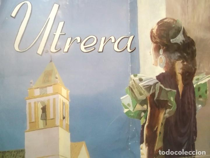 Carteles Feria: cartel feria y fiestas de consolacion . utrera -sevilla .año 2000 - Foto 2 - 116300007