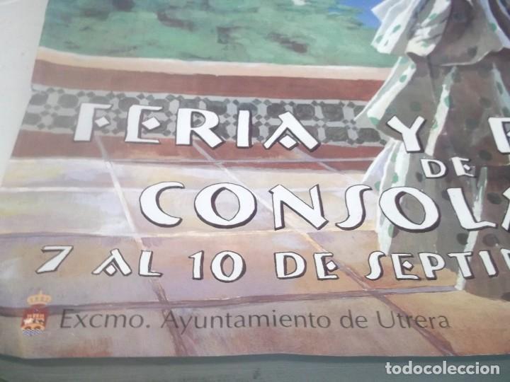 Carteles Feria: cartel feria y fiestas de consolacion . utrera -sevilla .año 2000 - Foto 4 - 116300007