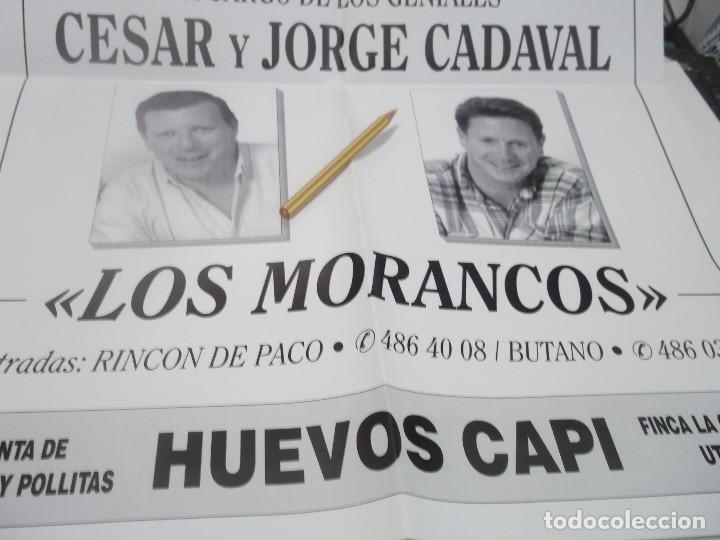 Carteles Feria: CARTEL PREGON REYES MAGOS POR LOS HUMORISTAS LOS MORANCOS .UTRERA.1997 - Foto 3 - 116300971
