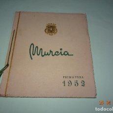 Carteles Feria: ANTIGUO PROGRAMA FIESTAS PRIMAVERA EN MURCIA DEL AÑO 1952 SEMANA SANTA. Lote 119148795
