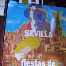 Carteles Feria: SEVILLA. FIESTAS DE PRIMAVERA 1993. TAMAÑO: 87 X 67 APROX.(ST/A6). Lote 119279471