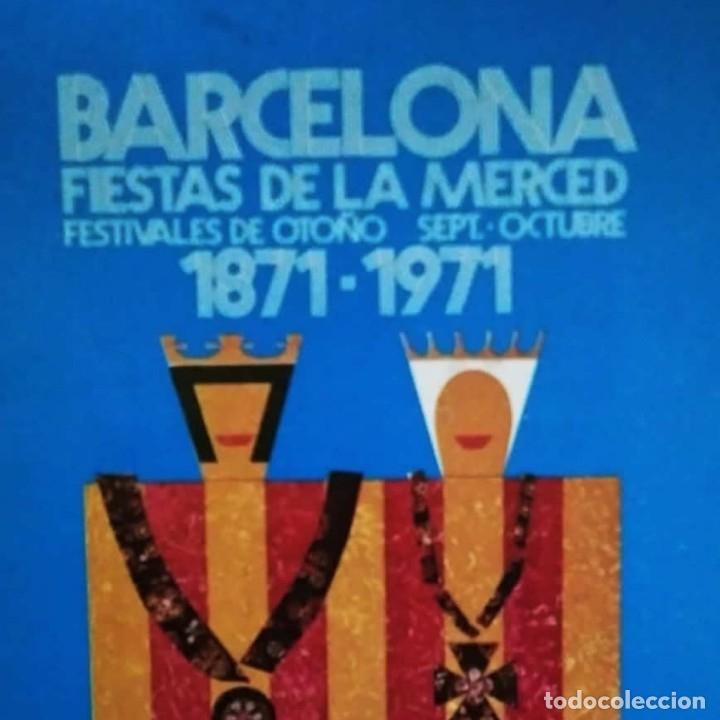 1971 PROGRAMA FIESTAS DE LA MERCED BARCELONA PRIMER CENTENARIO FESTES DE LA MERCE (Coleccionismo - Carteles Gran Formato - Carteles Ferias, Fiestas y Festejos)