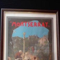 Carteles Feria: CARTEL MONTSERRAT FESTES JUBILARS. Lote 119985679