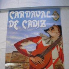 Carteles Feria: CARNAVAL DE CADIZ CARTEL 1988. Lote 120171951