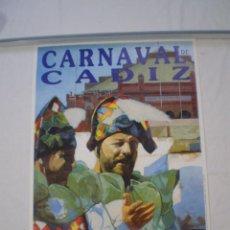 Carteles Feria: CARNAVAL DE CADIZ CARTEL 2004. Lote 120173535