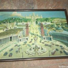 Carteles Feria: CARTEL EXPOSICIÓN INTERNACIONAL DE BARCELONA 1929. Lote 121738044