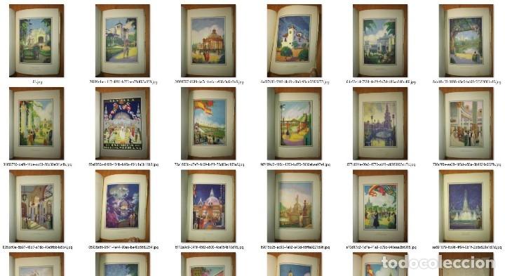 Carteles Feria: Album 23 carteles 31x24 Exposición Ibero Americana Sevilla 1929-1930 - Foto 26 - 113744467