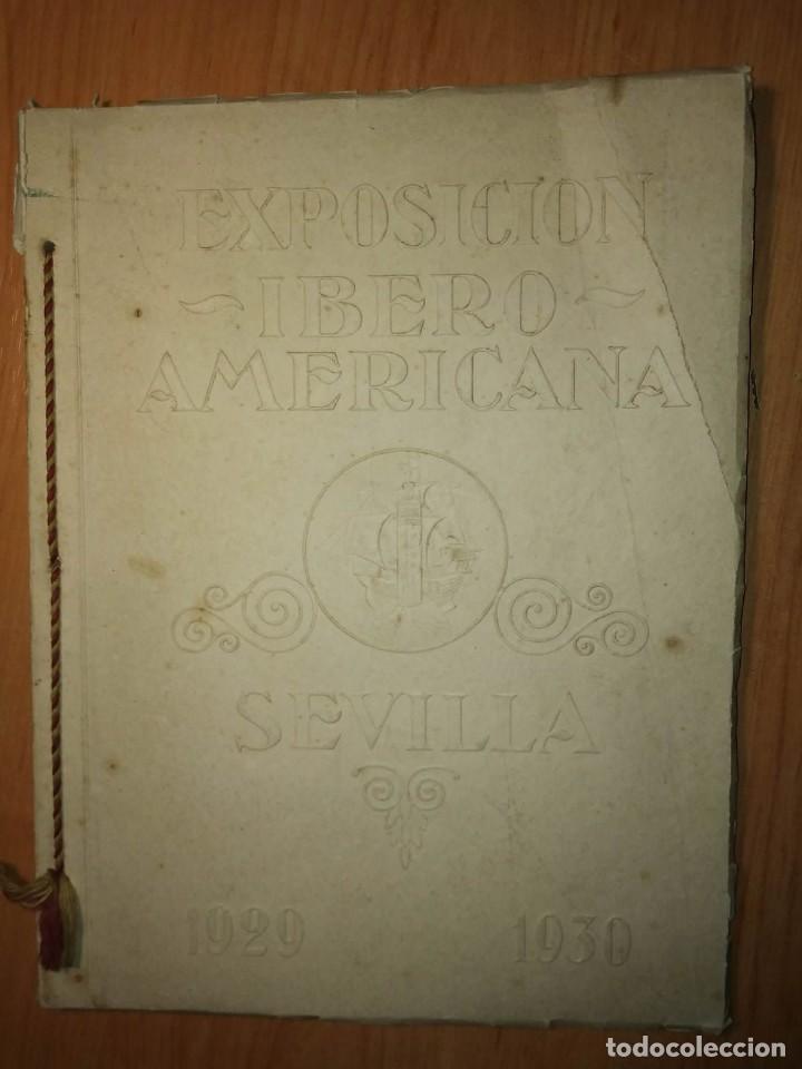 Carteles Feria: Album 23 carteles 31x24 Exposición Ibero Americana Sevilla 1929-1930 - Foto 3 - 113744467
