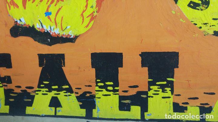 Carteles Feria: VALENCIA FALLAS SAN JOSE - AÑO 1963 - ORIGINAL PINTADO A MANO (BUÑOL) - Foto 11 - 122558283