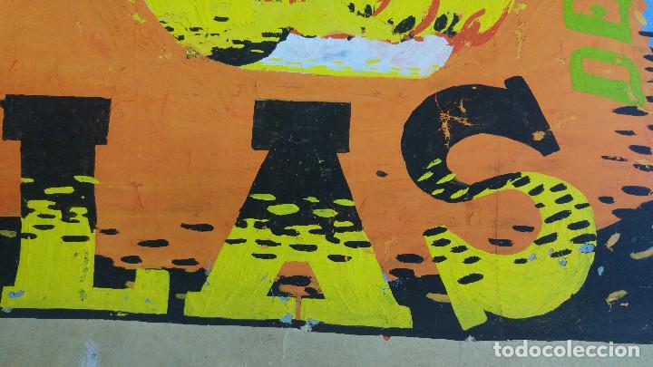 Carteles Feria: VALENCIA FALLAS SAN JOSE - AÑO 1963 - ORIGINAL PINTADO A MANO (BUÑOL) - Foto 12 - 122558283