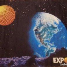 Carteles Feria: CARTEL ORIGINAL EXPO'92 SEVILLA, 68X48 CMS. Lote 123204467