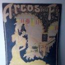 Carteles Feria: FIESTAS Y FERIA DE GANADOS ARCOS DE LA FRONTERA AÑO 1942. Lote 123413543