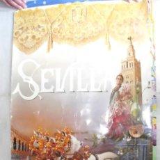 Carteles Feria: CARTEL. SEVILLA. FIESTAS DE PRIMAVERA 1992. TAMAÑO: 88 X 60 APROX. (ST/A6). Lote 125208887