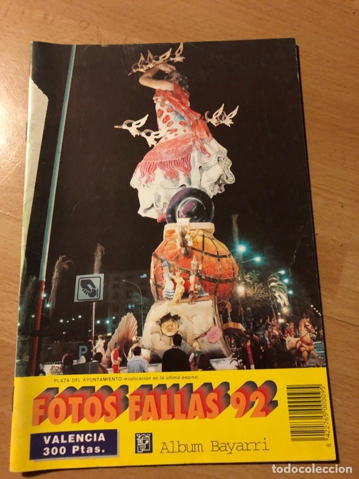 ALBUM BAYARRI 40 FOTOS FALLAS DE VALENCIA 1992 (Coleccionismo - Carteles Gran Formato - Carteles Ferias, Fiestas y Festejos)