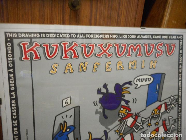 Carteles Feria: cartel san fermin kukuxumusu - Foto 2 - 128477519