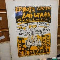 Carteles Feria: CARTEL VASCO CREO AÑOS 80. Lote 128479003