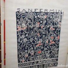Carteles Feria: CARTEL SAN FERMIN 1990. Lote 240645290