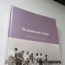 Carteles Feria: LIBRO DE :ELS POETES DE LA LLUM- FOGUERA PORT D´ALACANT-2001. Lote 128615279