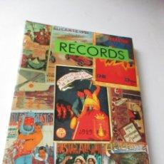 Carteles Feria: LIBRO DE :RECORDS- FOGUERA PORT D´ALACANT-1993. Lote 128645319