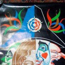 Carteles Feria: CARTEL ORIGINAL CARNAVAL DE REUS 1981 DIBUJO ILUSTRADOR BAIGES 98 X 68 CM MBE POSTER. Lote 129418843