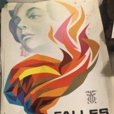 Carteles Feria: FALLAS VALENCIA 1979 CARTEL POSTER ORIGINAL. Lote 130548054