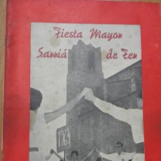 Carteles Feria: PROGAMAS FESTA MAJOR SARRIA DE TER. Lote 132401366