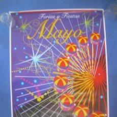 Carteles Feria: CARTEL CÁCERES FERIAS Y FIESTAS MAYO SAN FERNANDO 1996. Lote 132816974