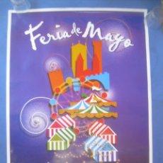 Carteles Feria: CARTEL CÁCERES FERIAS Y FIESTAS MAYO SAN FERNANDO 2004. Lote 132846194