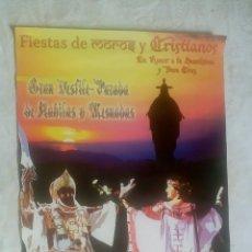 Carteles Feria: POSTER LAMINA MURCIA FIESTAS MOROS Y CRISTIANOS AÑO 2009 / 48 X 68 CM. Lote 133061901