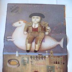 Cartazes Feira: FERIA DE MALAGA CARTEL AÑO 1991, 68X48. Lote 133365554