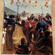 Carteles Feria: CARTEL FERIA DE ABRIL. SEVILLA 1976. MIDE 48X68 CMS. FOTOGRÁFICO.. Lote 133702238